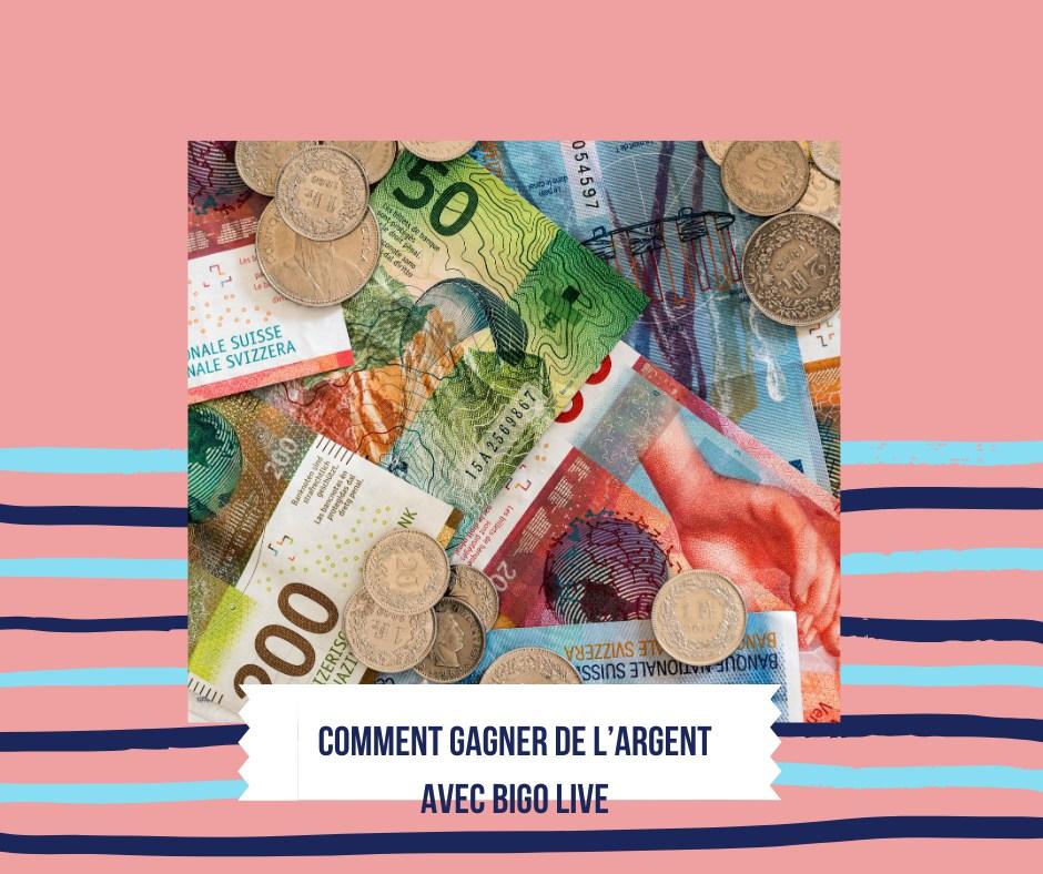 Comment gagner de l'argent avec BIGO LIVE