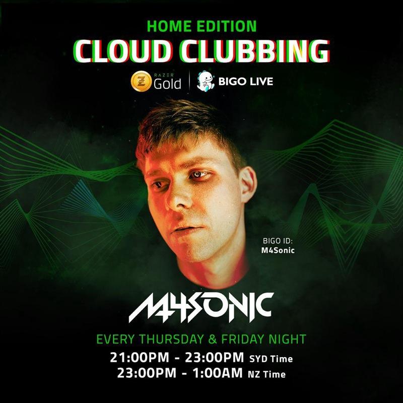 M4Sonic Spins on Bigo Live
