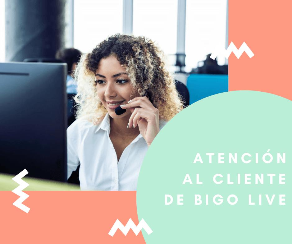 Atención al cliente de BIGO LIVE
