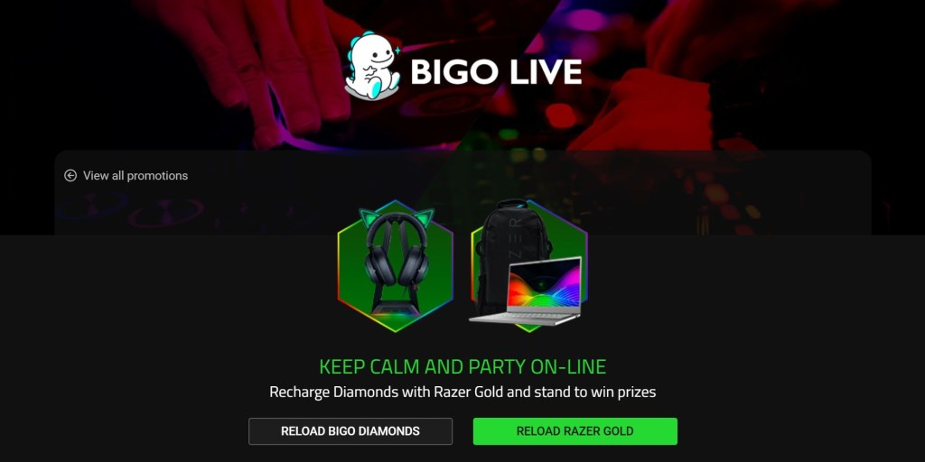 Razer and BIGO LIVE